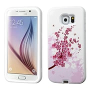 Insten Spring Flowers Hard Cover Case for Samsung Galaxy S6, Pink/White