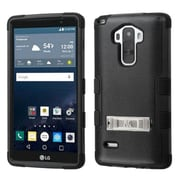 Insten Hard Dual Layer Silicone ShockProof Hard Case withstand for LG G Stylo, Black