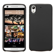 Insten Hard Hybrid Rubber Coated Silicone Cover Case for HTC Desire 626, Black
