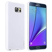 Insten TPU Ultra Thin Jelly Skin Cover Case for Samsung Galaxy Note 5, White