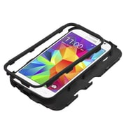 Insten Tuff Hard Hybrid Silicone Case for Samsung Galaxy Core Prime, Black