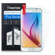 Insten Anti-Glare Matte Screen Protector LCD Film Cover for Samsung Galaxy S6 G920 G9200, 6/Pack