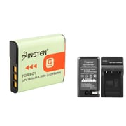 Insten US Charger + Li-ion Battery for Sony NP-BG1 G Type