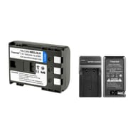 Insten 2-Pack Battery and Charger for Canon Digital Rebel XT Xti