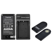 Insten EN-EL9 Battery Charger + ML-L3 Wireless Remote Control for Nikon D60 Camera