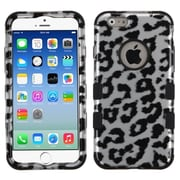 "Insten Dual Layer TUFF Hybrid Hard Shockproof Case Cover for iPhone 6 6S 4.7"", Black Leopard"