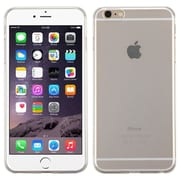 Insten TPU Rubber Candy Cover Case for Apple iPhone 6 Plus, Transparent Clear