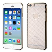 Insten Hard Rubber Coated Case for Apple iPhone 6, Clear