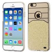 Insten Hard Glitter Hard Plastic Cover Case for Apple iPhone 6, Gold
