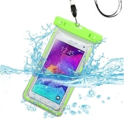 Insten Universal Apple Green Lightning Waterproof Pouch Dry Bag Case with Lanyard for iPhone 6S Plus 6 Samsung Galaxy S6 Edge S5