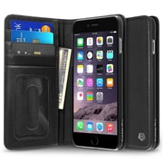 "Cobble Pro Genuine Leather Wallet Flip Stand Case for iPhone 6 Plus/ 6s Plus 5.5"", Black"
