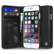"Cobble Pro Genuine Leather Wallet Flip Stand Case for iPhone 6 / 6s 4.7"", Black"