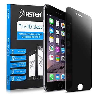 Insten Privacy Anti-spy Real Tempered Glass Screen Protector Film for iPhone 6S Plus \/ 6 Plus 5.5