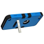 Insten Tuff Hybrid Soft Hard Case (with Stand) for Apple iPod Touch 6 6th 5 5th Gen, Natural Dark Blue/Black