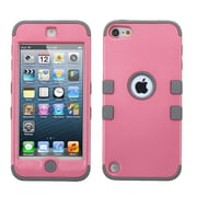 Insten Tuff Hard Dual Layer Silicone Case for Apple iPod Touch 5th Gen/6th Gen, Pink/Gray