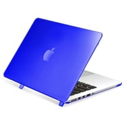 Insten Dark Blue Rubberized Hard Shell With Retina Display Case Cover for Apple MacBook Pro 13""