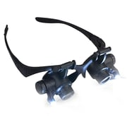 Insten 10X 20x Magnifying Glasses Loupe Lens LED Light Magnifier for Jeweler/Watch Repair