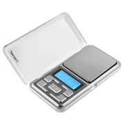 Insten Silver 200g x 0.01g Mini Digital Scale Jewelry Pocket Balance Gram LCD