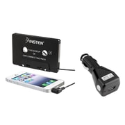 Insten Audio Cassette Adapter + USB Car Charger for iPod Touch Shuffle Nano Classic iPhone 6 Plus 5.5 iPad Mini Air 2 3