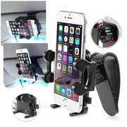 """Insten Cell Phone Mount Adjustable Phone Holder for iPhone 6 6+ Plus Galaxy S4 S5 Note 4 HTC [1.57 to 4.32]"""""""