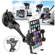 "Insten Universal Car Windshield Dashboard Suction Mount Holder for iPhone 6 6+ Plus 6s 6s+ 5S (Width 1.57 to 4.32"")"
