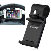 Insten Car Steering Wheel Clip Mount Holder Cradle Stand for iPhone 6 5 4 Samsung Galaxy S6 S5 HTC One Mobile Phone GPS
