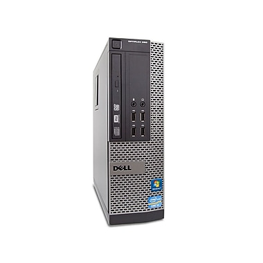Dell - Optiplex 990, SFF remis à neuf, Core i5 2400, 3,1 GHz, 16Go, 250Go, DVD, Windows 10 Pro