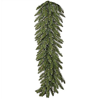 Vickerman Pre Lit Camdon Fir Garland; 9'L x12''W with Clear Lights