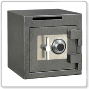 QNN Safe Dial/Combination Lock Commercial Depository Safe 1.2 CuFt