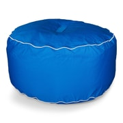 Hip Chik Chairs Sunbrella Outdoor Ottoman; Pacific Blue