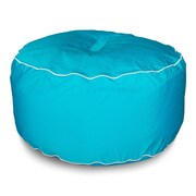 Hip Chik Chairs Sunbrella Outdoor Ottoman; Aruba