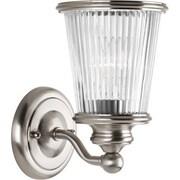 Progress Lighting Radiance 1 Light Vanity Light; Brushed Nickel