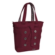 "OGIO® 114006.551 Hamptons TC 900D Poly Tote Bag for 15"" Laptops, Wine"