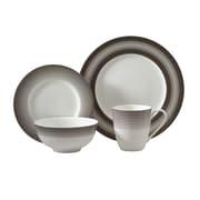 Auratic Licorice 16 Piece Dinnerware Set; Toffee