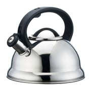 Alpine cuisine whistling tea kettle 2 3 l silver for Alpine cuisine flatware