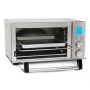 Elite 6 Slice Programmable Countertop Convection Oven, Silver (KM1231)
