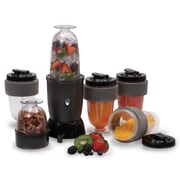 Elite Free Shake Blender Food Chopper Set, Black (KM1800)