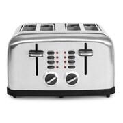 Elite Multi-Function Stainless Steel 4 Slice Toaster, Silver (KM2334X)