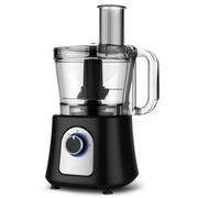 Elite Versatile BPA-Free 12-Cup Food Processor, Black (KM7730A)