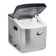 Elite High Capacity Portable Ice Maker Stainless Steel, 35 lbs (KM88)