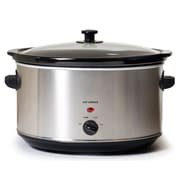 Elite 8.5-Quart Oval Slow Cooker, Silver (KM900V)