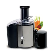 Elite Full-function 2-Speed Fruit/Vegetable Juicer Stainless Steel, Black (KM9700)