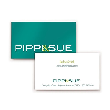 Staples® Custom Business Cards, Double Sided, Colour Matte, 250 Cards/Set