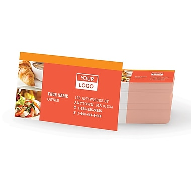Staples® Custom Business Cards, Single Sided, Colour Matte, 250 Cards/Set