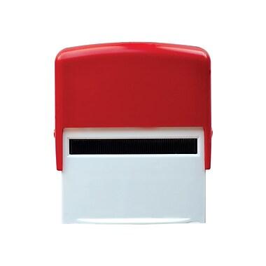 Staples® - Tampons auto-encreur personnalisables, 5 lignes, 3/4 po x 1 7/8 po