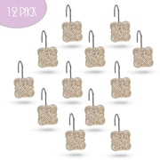 Creative Scents Victoria Resin Shower Curtain Hook (Set of 12) (Set of 12)