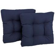 Blazing Needles Patio Chair/Rocker Cushion (Set of 4); Bery Berry
