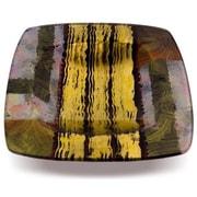 JasmineArtGlass Square Decorative Platter