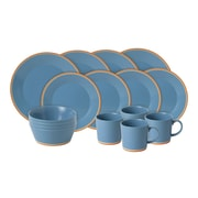 Royal Doulton Colours 16 Piece Dinnerware Set; Blue