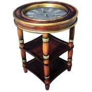 UQDS Dual Shelf Clock End Table